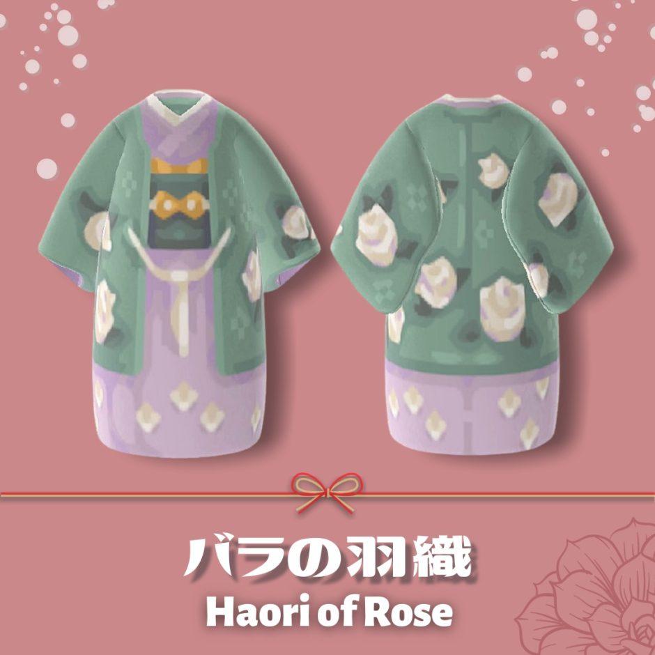 haori of rose