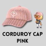 コーデュロイキャップ・ピンク [Corduroy Cap - Pink]【あつ森マイデザ】