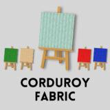 コーデュロイ生地 [Corduroy Fabric]【あつ森マイデザ】