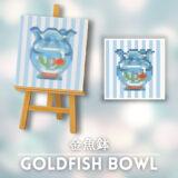 金魚鉢 [Goldfish Bowl]【あつ森マイデザ】