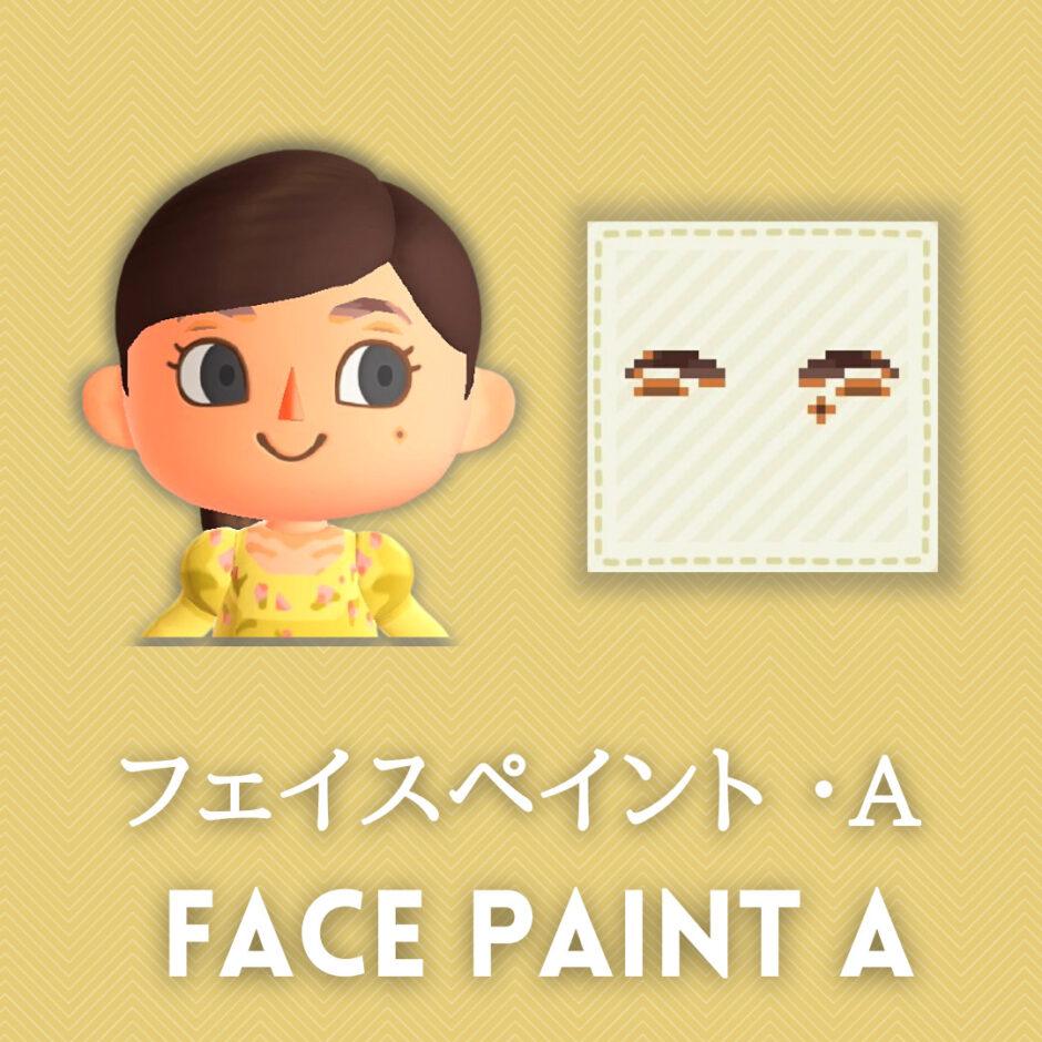 face paint a